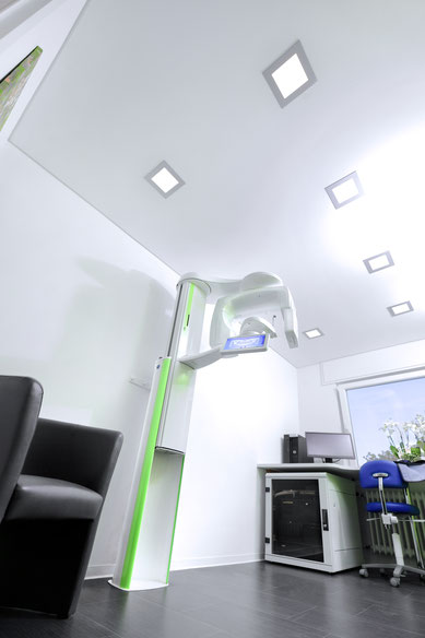 DVT  Karlsruhe 3D-Röntgen digitales Röntgen Volumentomographie Zahnimplantate