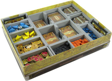 folded space insert organizer lords of waterdeep foamcore