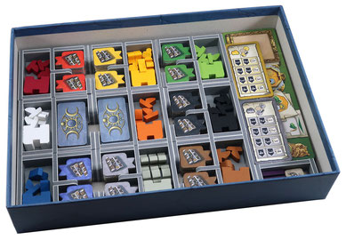 folded space insert organizer terra mystica merchants of the seas