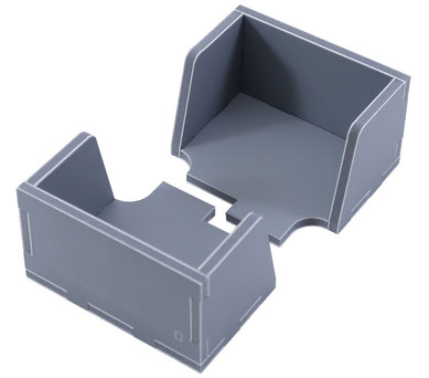 folded space insert organizer 7 wonders duel foam core