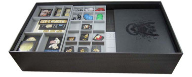 folded space insert organizer kingdom death monster foamcore