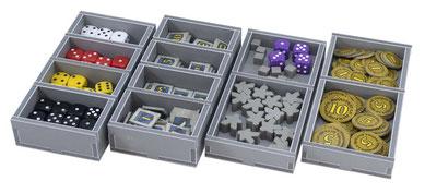 folded space insert organizer troyes