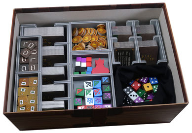 folded space insert organizer roll player big box foam core
