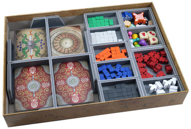 folded space insert organizer pandemic iberia fall of rome rising tide foamcore