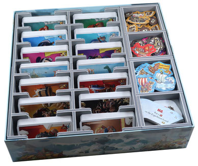 folded space insert organizer empires of the north