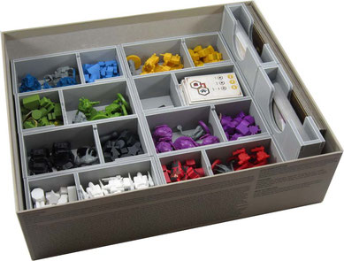folded space insert organizer scythe foam core