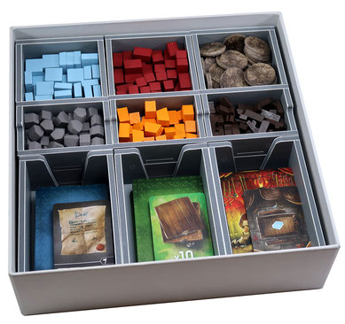 folded space insert organizer architects of the west kingdom foam core age of artisans