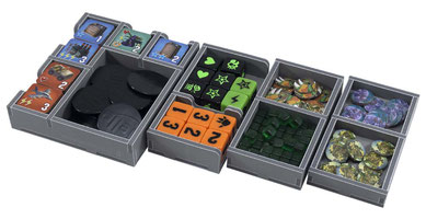 Folded Space insert organizer king of tokyo king of new york