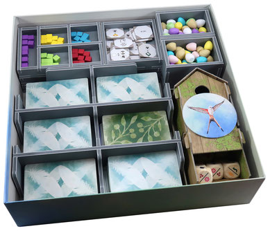 folded space insert organizer wingspan european expansion oceania