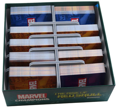 folded space insert organizer marvel champions the rise of red skull