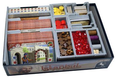folded space insert organizer istanbul board game