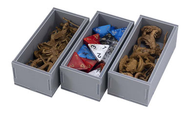 folded space insert organizer kemet foam core