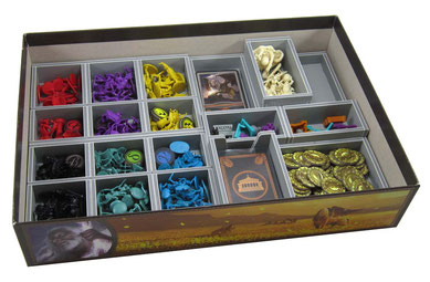 folded space insert organizer cyclades foamcore