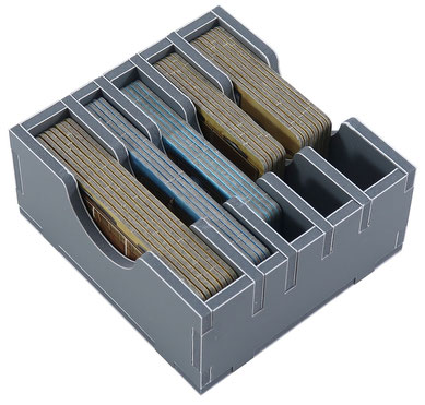 folded space insert organizer fields of arle foam core