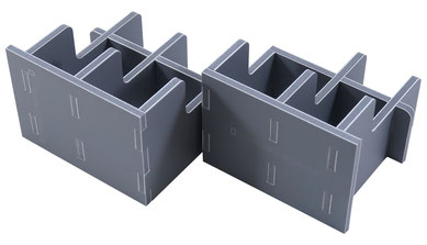 folded space insert organizer taverns of tiefenthal expansion