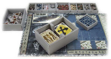 dead of winter long night insert organizer board game foamcore