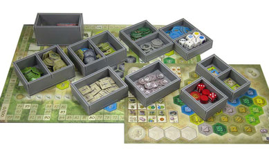 folded space insert organizer castles of burgundy