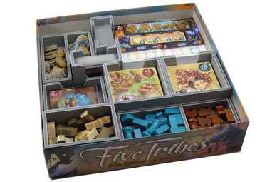 folded space insert organizer five tribes foamcore