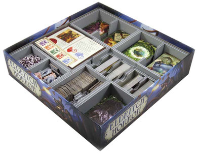 eldritch horror insert organizer board game foamcore folded space