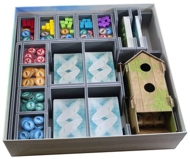 folded space insert organizer wingspan european expansion