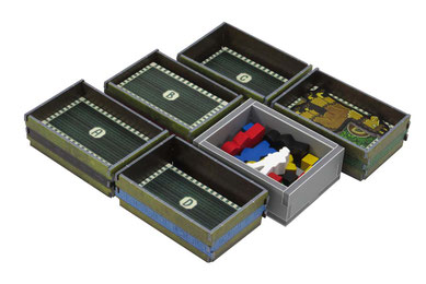 folded space insert organizer altiplano foam core