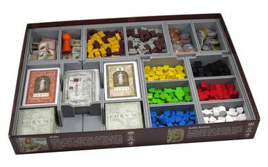 folded space concordia insert organizer board game foamcore