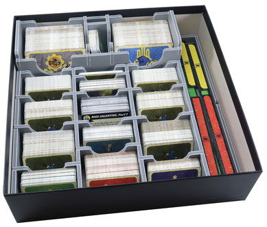 folded space insert organizer fallout wasteland warfare foam core