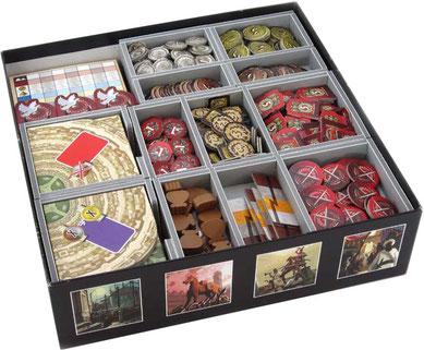 folded space insert organizer 7 wonders