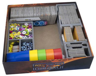 folded space insert organizers roll for the galaxy rivalry