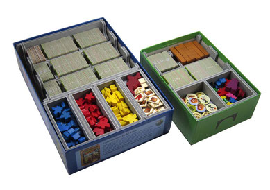 folded space insert organizer carcassonne foam core