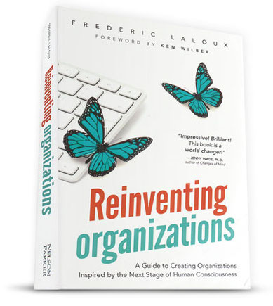 Reinventing Organizations author contact booking
