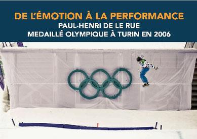 paul henri de le rue champion olympique contact booking