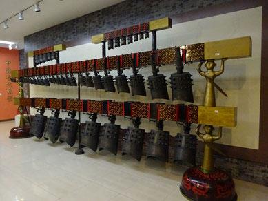 上海「東方楽器博物館」蔵の銅鐸