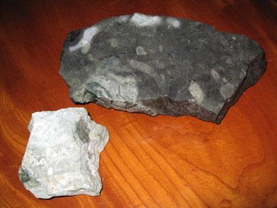 天照石または天降石の原石