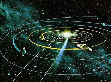 ウエツフミに書かれた「大宇宙共...