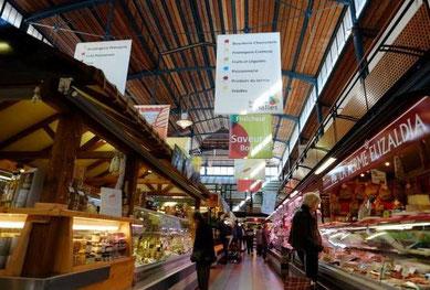Les halles du marché de Bayonne