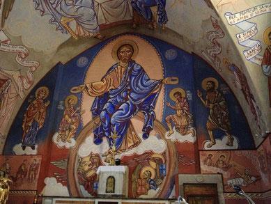 Fresques de l'église St Victor - St Victor et Melvieu