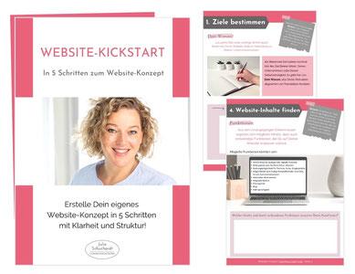 Vorschau Website Kickstart - Workbook von Julia Schuchardt
