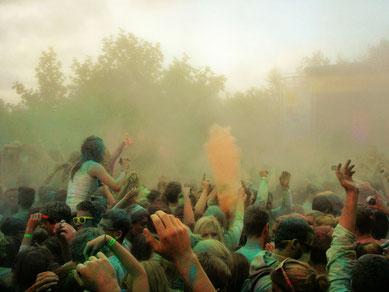 Holi Festival statt Musik Festival