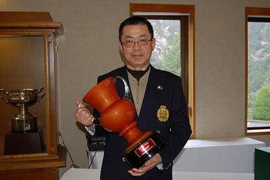 優勝者 山田選手