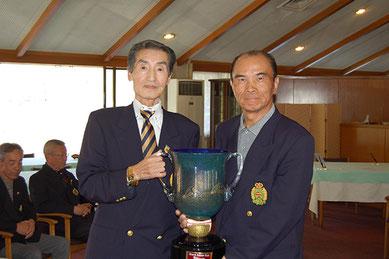 優勝者 萩原選手(右)