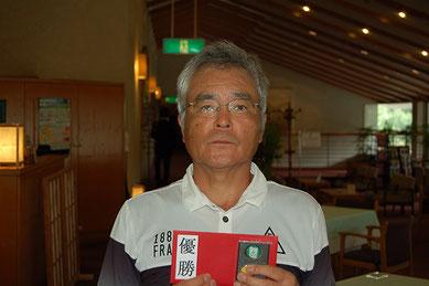 優勝者 斎藤選手