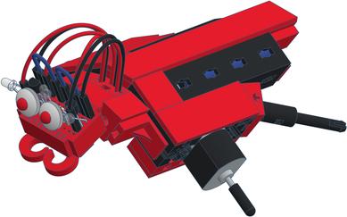 varikabi FT Roboter mit Fischertechnik