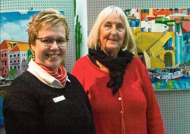 Jana Panten präsentiert Werke von Petra Tiemann in der SpKa.