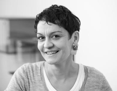 Portrait Corinna Loelgen, Sumi-e Tuschmalerei