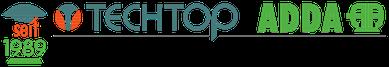 seit 1989 Icon & Logo - TECHTOP ADDA MOTOR GmbH in Rodgau