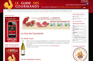 guide des gourmands chablis exquis