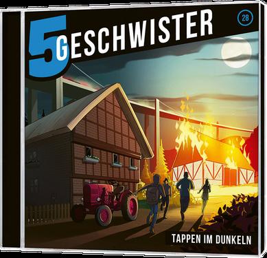 CD-Cover 5 Geschwister - Tappen im Dunkeln