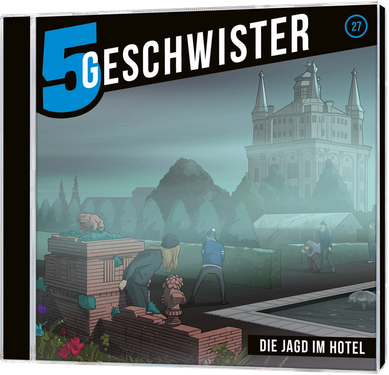 CD-Cover 5 Geschwister - Jagd im Hotel