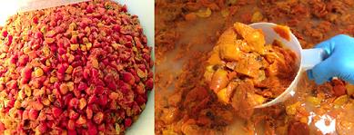 柿の神髄作り方:一次発酵
